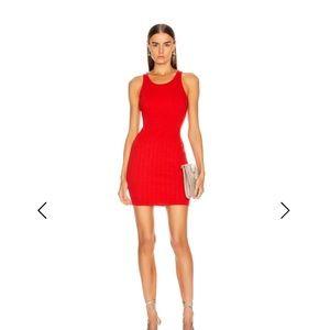 Enza Costa  NWOT mini red dress